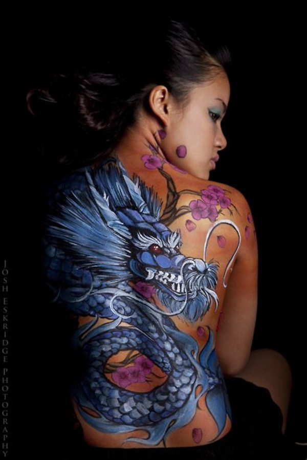Insanely Gorgeous Blue Tattoos in Trend (34)