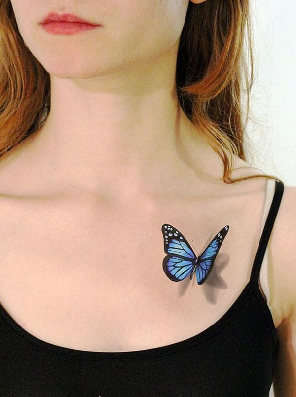 Insanely Gorgeous Blue Tattoos in Trend (38)