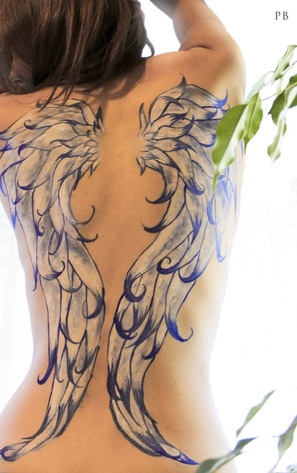 Insanely Gorgeous Blue Tattoos in Trend (42)