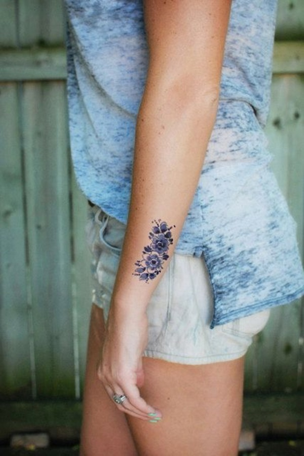 Insanely Gorgeous Blue Tattoos in Trend (46)