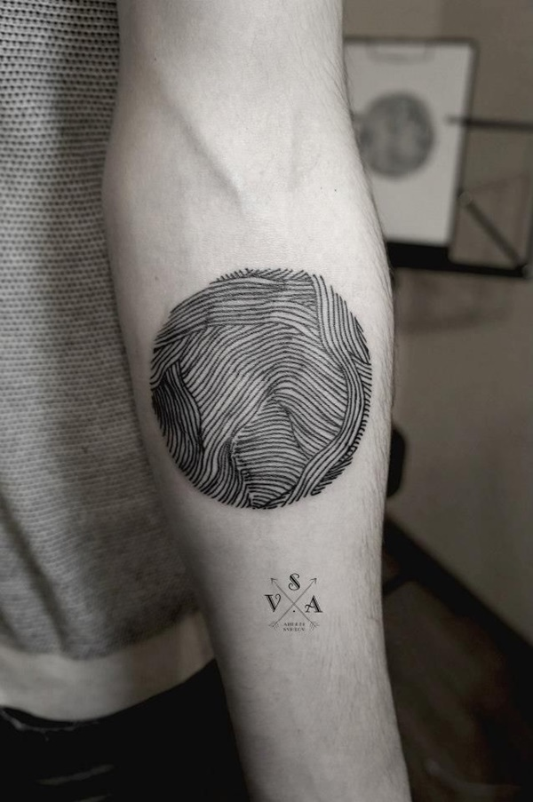 Insanely Gorgeous Circle Tattoo Designs (28)
