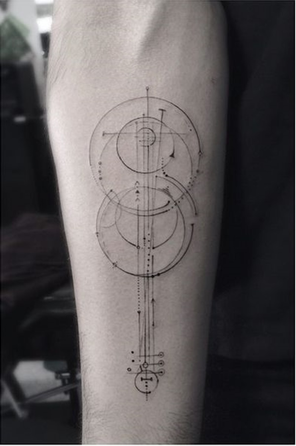 Insanely Gorgeous Circle Tattoo Designs (9)