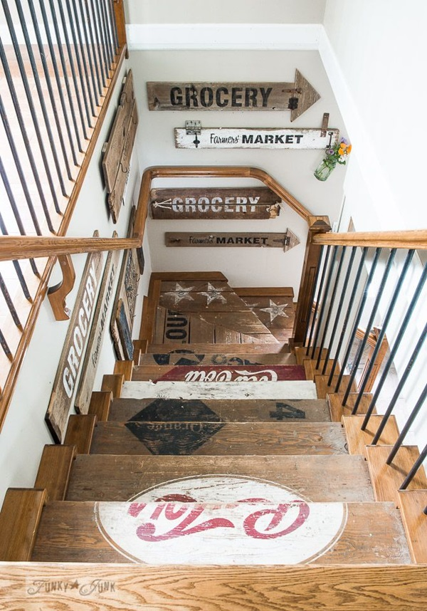 Must Try Stair Wall Decoration Ideas (11)