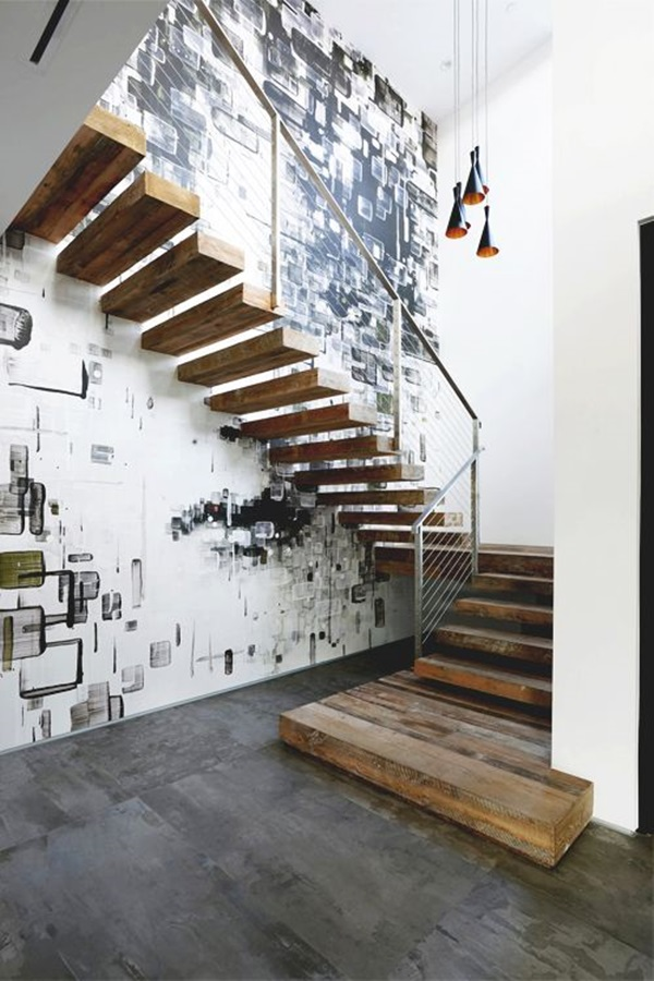Must Try Stair Wall Decoration Ideas (16)