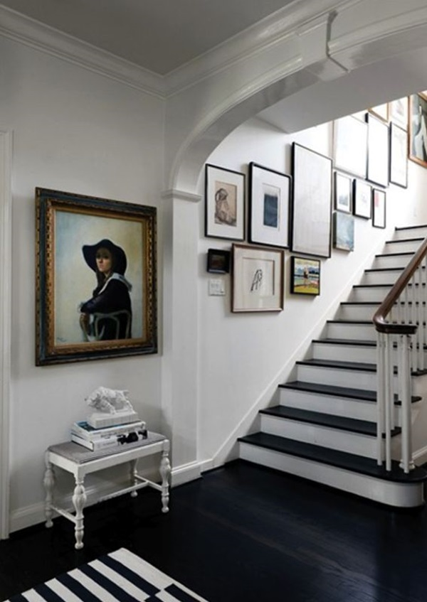 Must Try Stair Wall Decoration Ideas (19)
