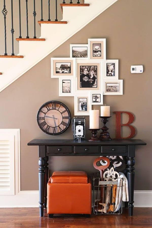 Must Try Stair Wall Decoration Ideas (20)
