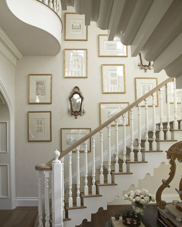 Must Try Stair Wall Decoration Ideas (21)