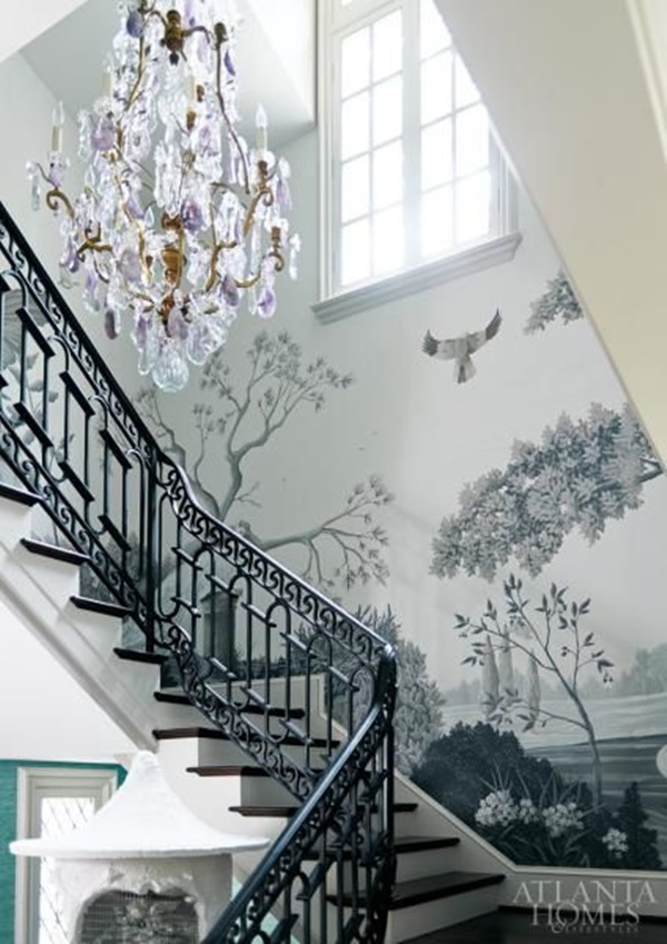 Must Try Stair Wall Decoration Ideas (22)