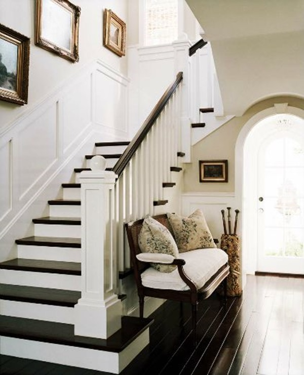 Must Try Stair Wall Decoration Ideas (25)