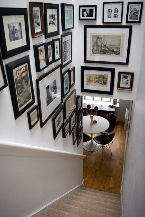 Must Try Stair Wall Decoration Ideas (29)