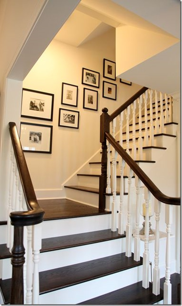 Must Try Stair Wall Decoration Ideas (33)