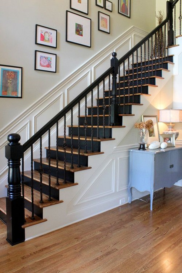 Must Try Stair Wall Decoration Ideas (34)