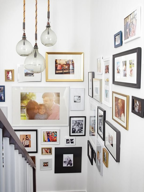Must Try Stair Wall Decoration Ideas (38)