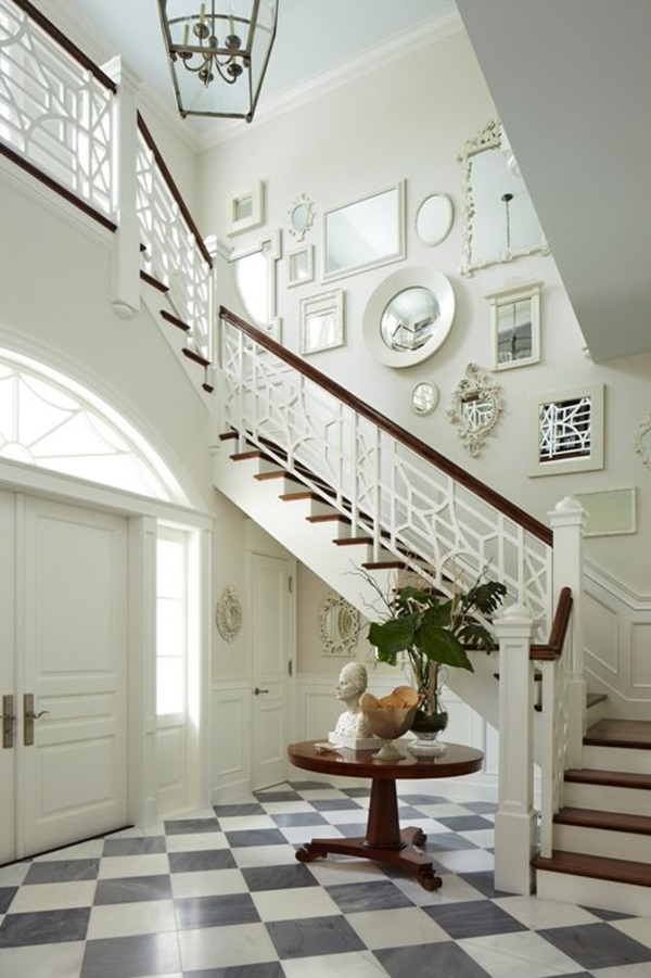 Must Try Stair Wall Decoration Ideas (39)