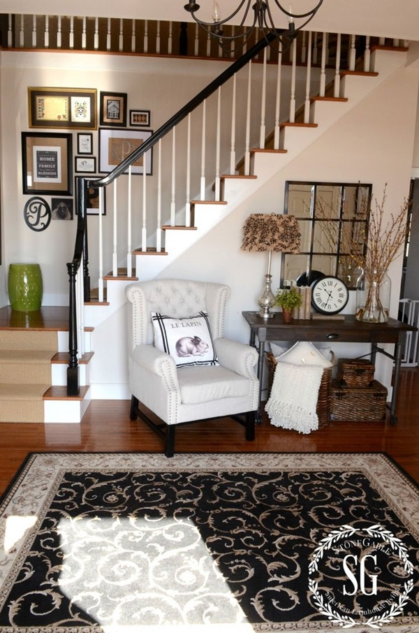 Must Try Stair Wall Decoration Ideas (42)