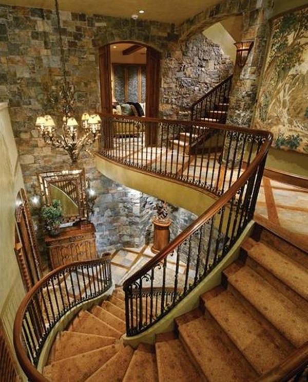 Must Try Stair Wall Decoration Ideas (44)