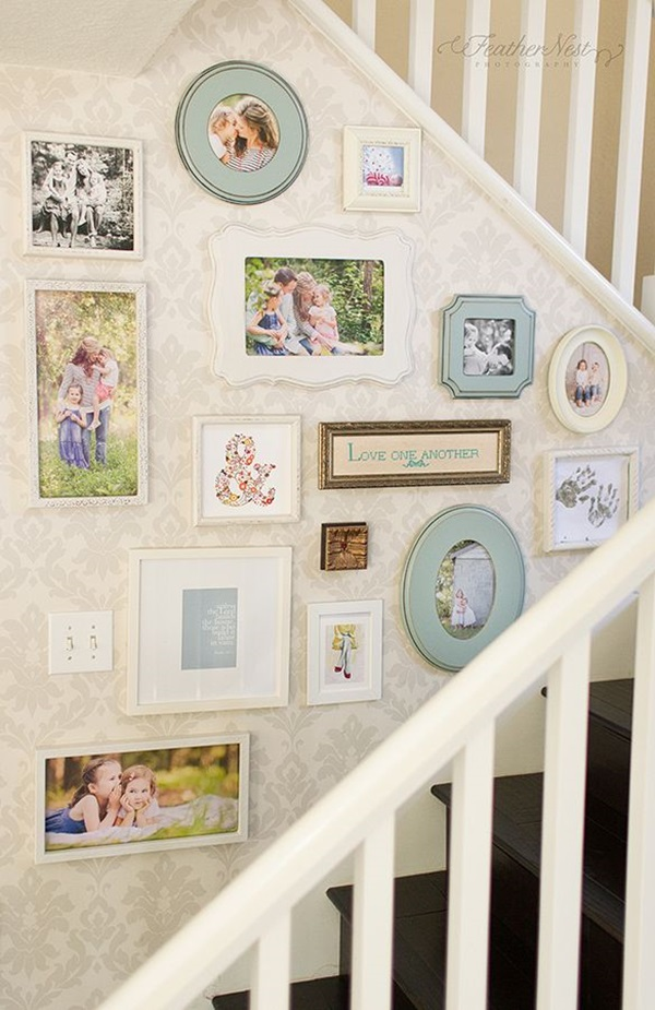 Must Try Stair Wall Decoration Ideas (6)
