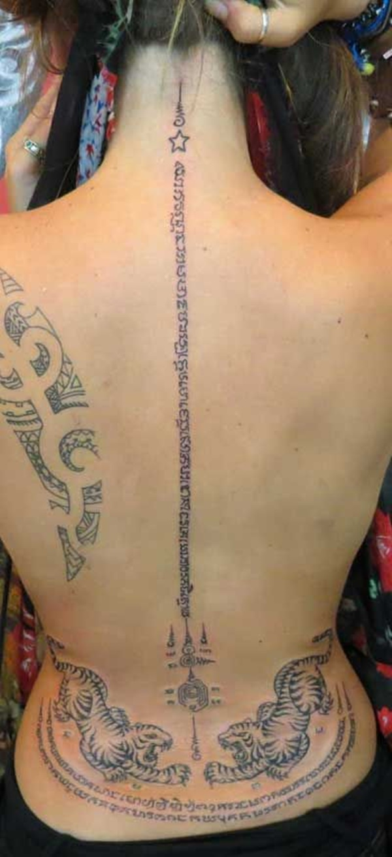 Traditional Thai tattoo Designs (10)