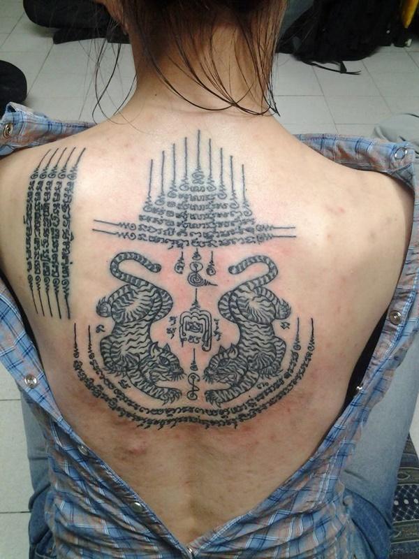 Traditional Thai tattoo Designs (17)