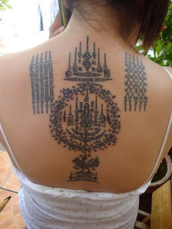 Traditional Thai tattoo Designs (18)