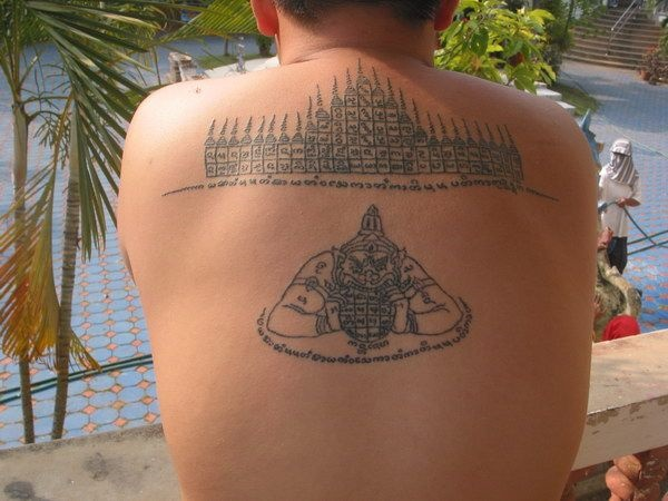 Traditional Thai tattoo Designs (42)