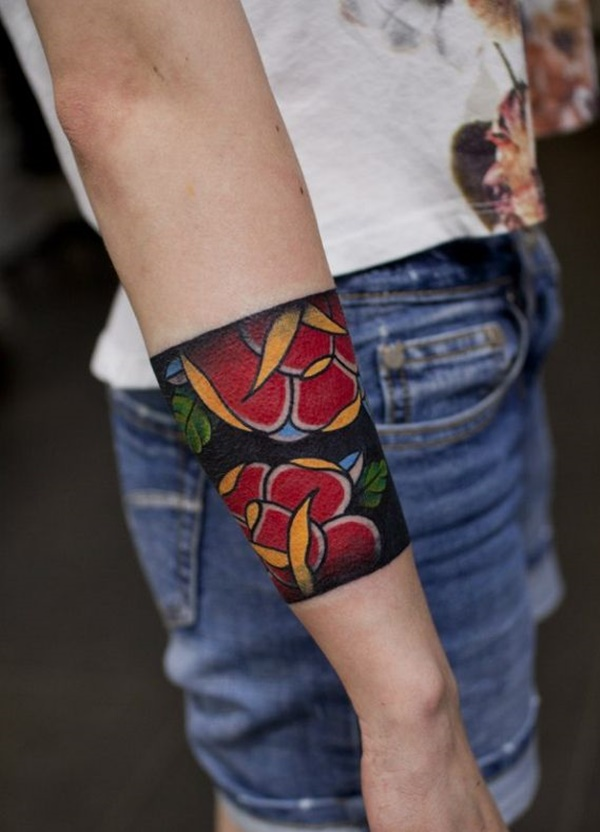 Unique Arm Band Tattoo Designs (17)