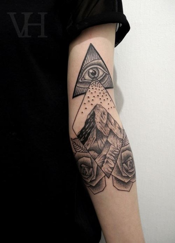 Unique Arm Band Tattoo Designs (24)