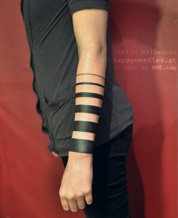 Unique Arm Band Tattoo Designs (32)