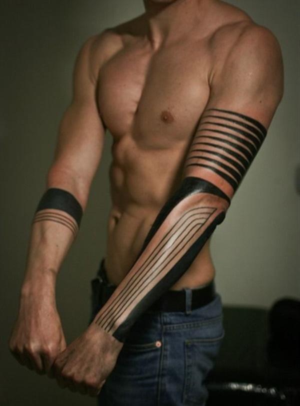Unique Arm Band Tattoo Designs (44)