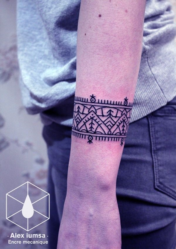 Unique Arm Band Tattoo Designs (6)