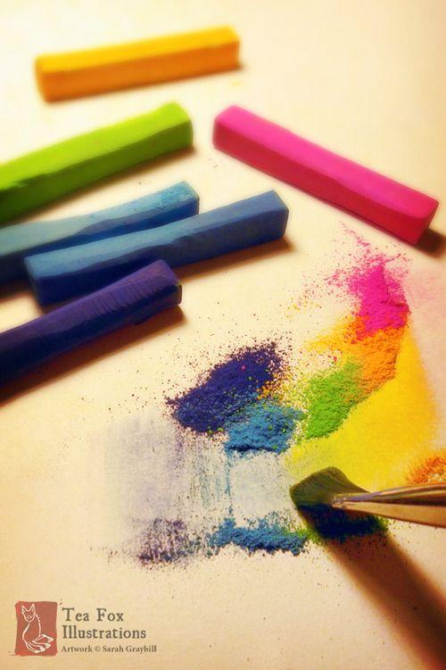 chalk pastel techniques 3