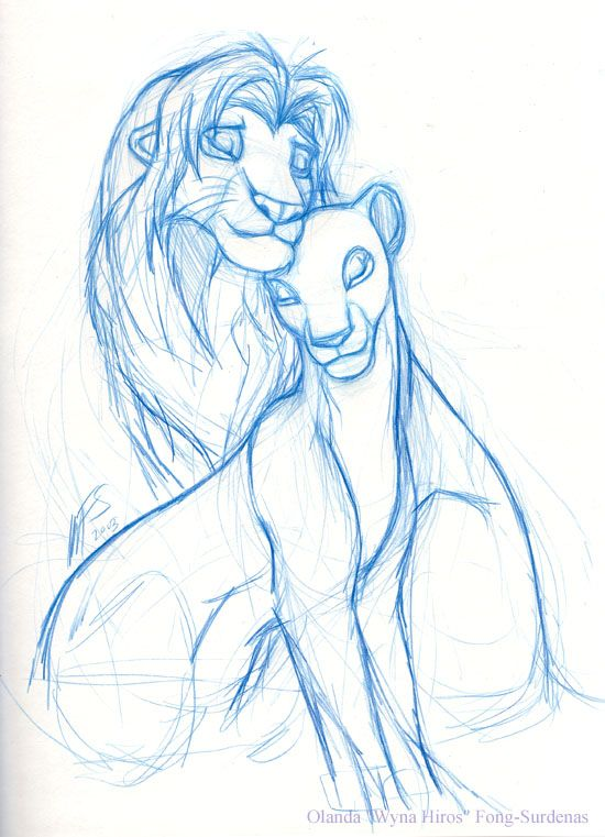 disney sketch art 12