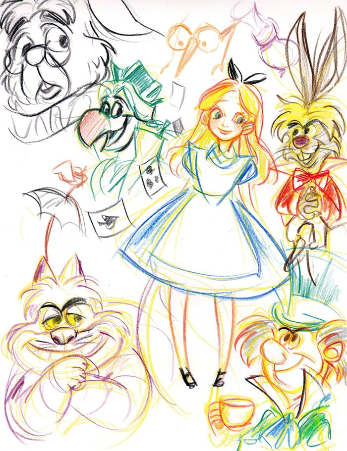 disney sketch art 25