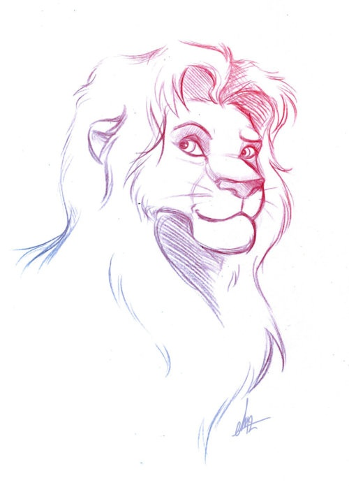 disney sketch art 5