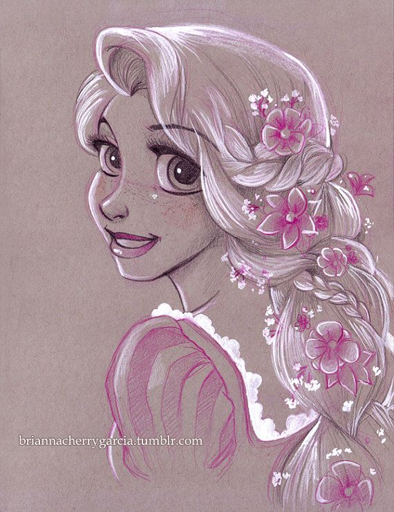 disney sketch art 8