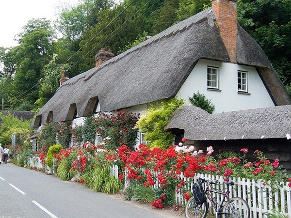 Beautiful thatch roof Cottage House Designs (13)