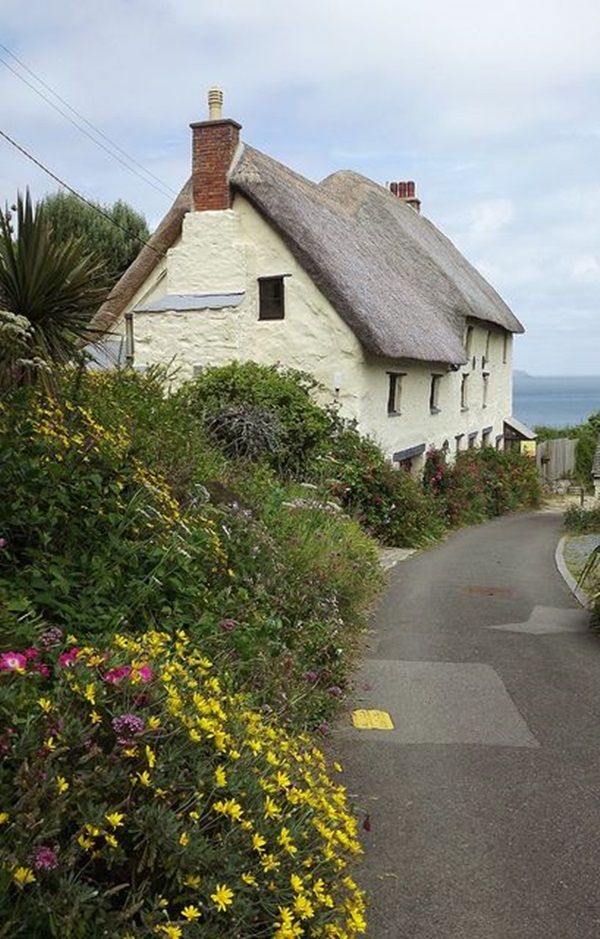 Beautiful thatch roof Cottage House Designs (19)