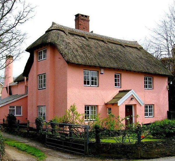 Beautiful thatch roof Cottage House Designs (29)