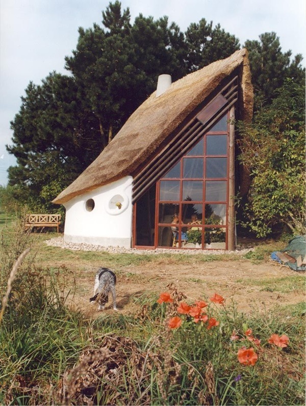 Beautiful thatch roof Cottage House Designs (33)