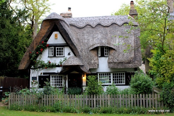Beautiful thatch roof Cottage House Designs (37)