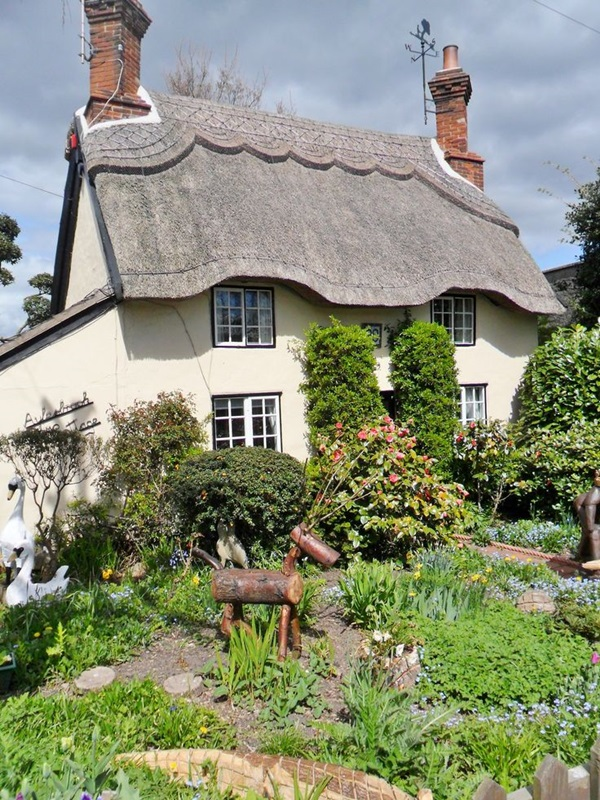 Beautiful thatch roof Cottage House Designs (4)