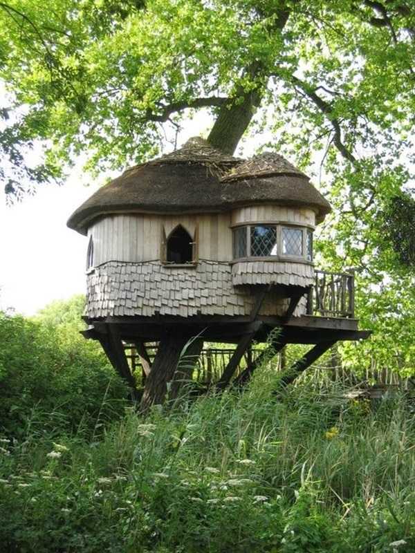 Beautiful thatch roof Cottage House Designs (9)