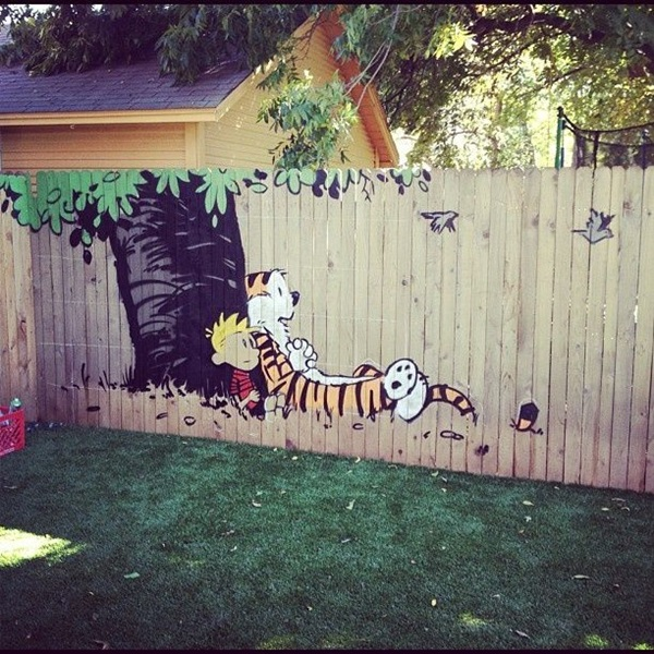 Creative Garden Fence Decoration Ideas (17)