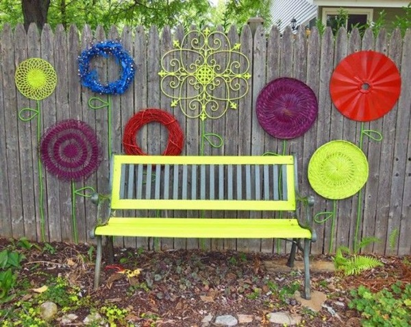 Creative Garden Fence Decoration Ideas (21)