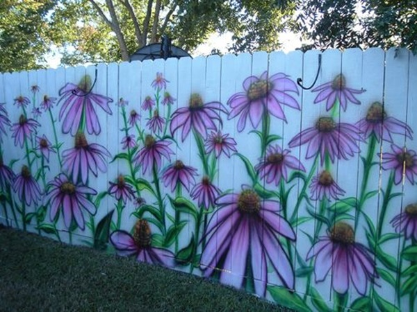 Creative Garden Fence Decoration Ideas (24)