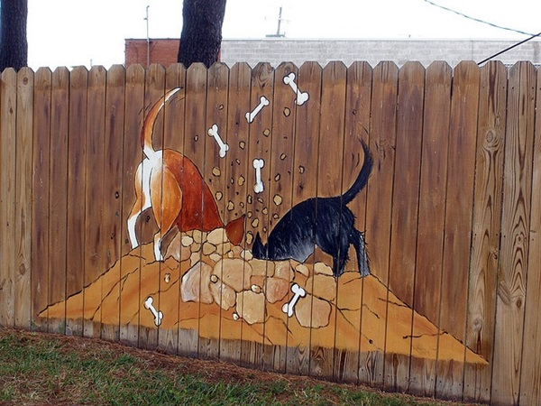 Creative Garden Fence Decoration Ideas (32)