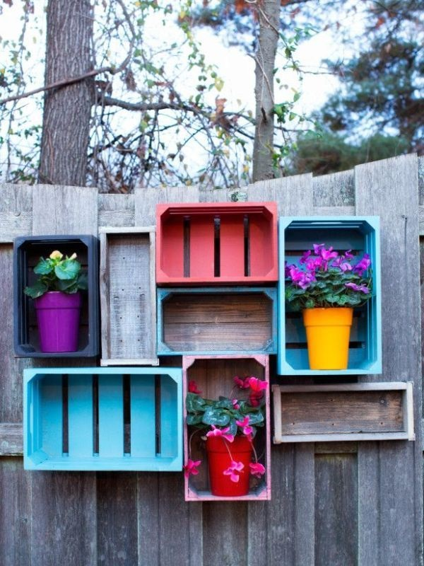 Creative Garden Fence Decoration Ideas (34)