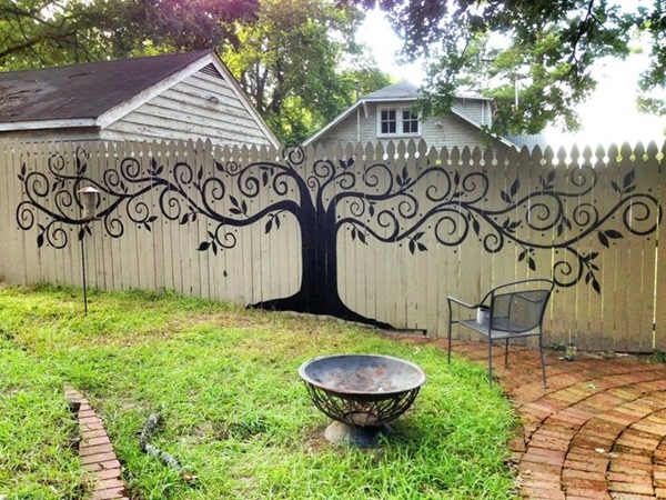 Creative Garden Fence Decoration Ideas (5)
