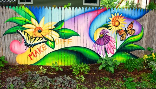 Creative Garden Fence Decoration Ideas (6)