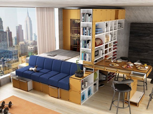 Smart Space Saving Ideas For Your Home (10)